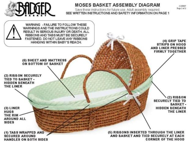 Bassinet Basket8