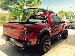 BOTE Paddleboard Roof Rack Ford Raptor Roush Truck