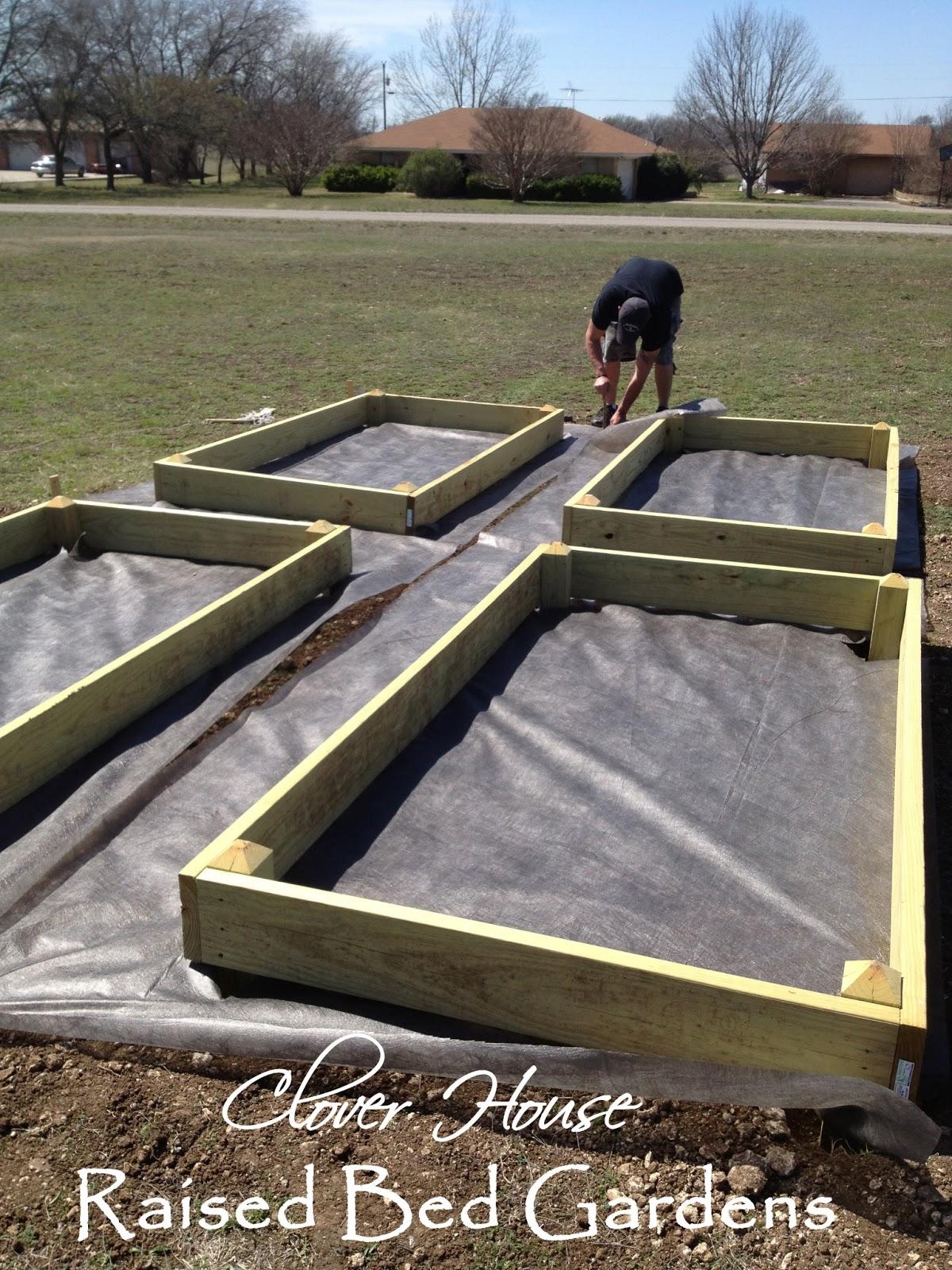 Clover House Raised Bed Garden Part 2