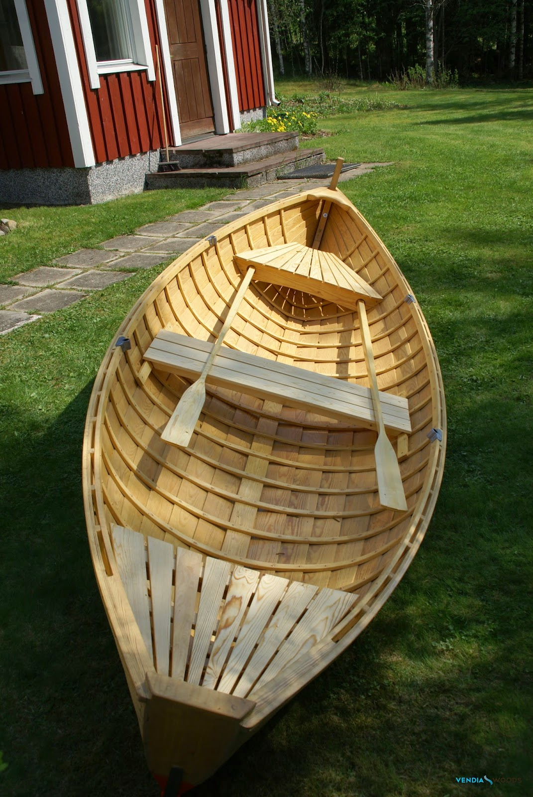 Boat Construction Materials : New boat building material