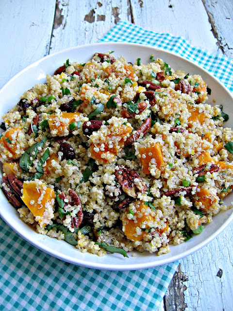 sweetsugarbean: Quinoa With Roasted Butternut Squash and Pecans