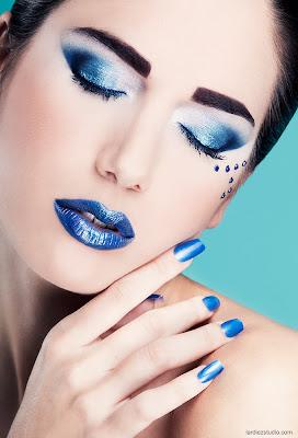 realizado por el maquillador profesional Manuel Andrade