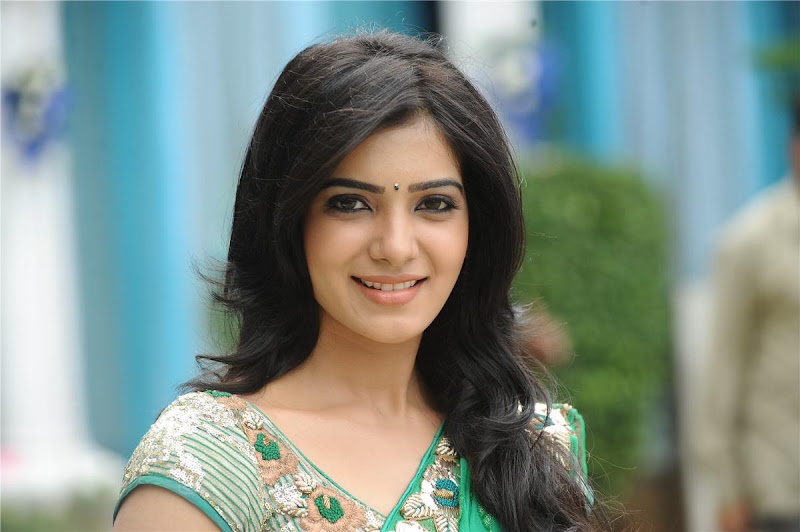Telugu Lovely Actress Samantha Exclusive Cute Saree Stills hot photos