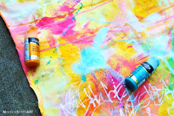 Graffiti Statement Backdrop TUTORIAL by Martice Smith II