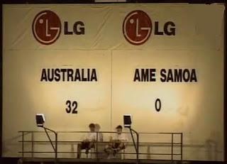 Australia 31-0 Samoa