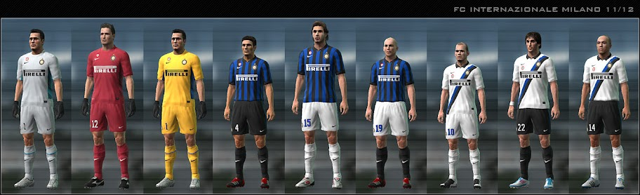 Inter 11/12 Kit Set by Dark Nero