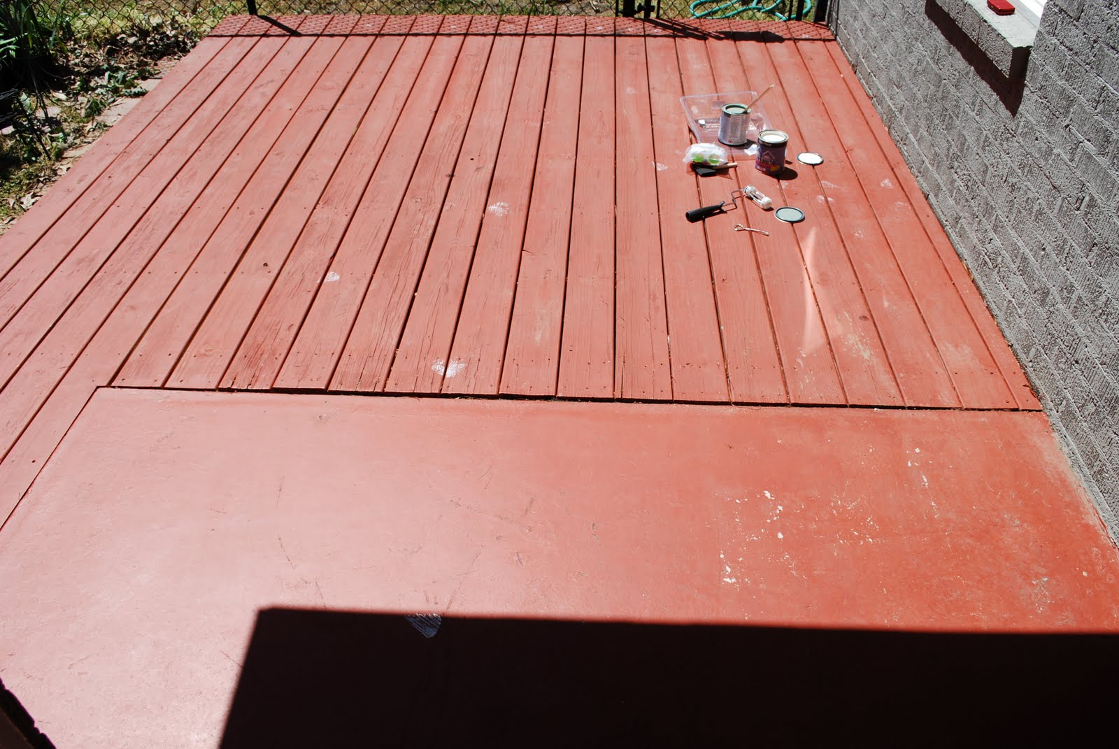 this & that: Deck Paint?