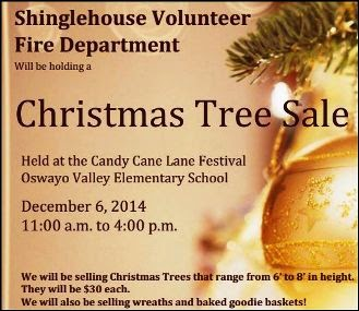 12-6 Christmas Tree Sale by SVFD