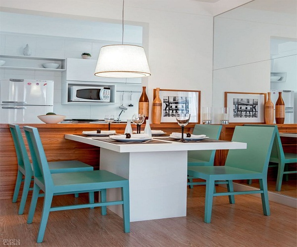 Decore Sua Mente, Seu Corpo E Seu Espaço Cozinhas Gourmet Com Mesa Acoplada  # Cozinha Com Ilha E Mesa