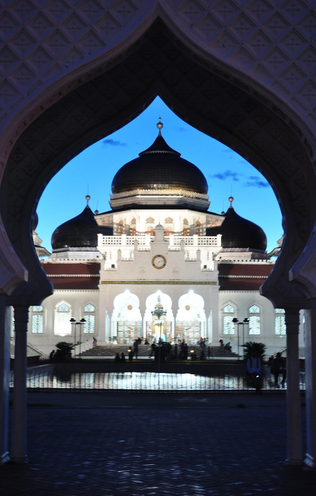 Poundja Putra Atjeh: Masjid Raya Baiturrahman Banda Aceh