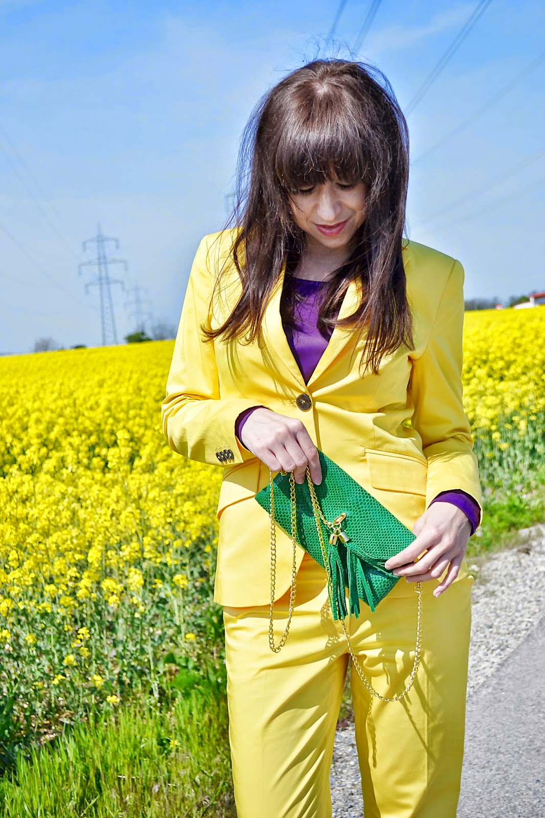 How to wear yellow Katharine-fashion is beautiful