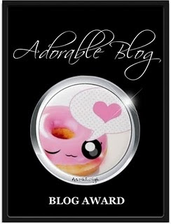 PREMIO ADORABLE BLOG