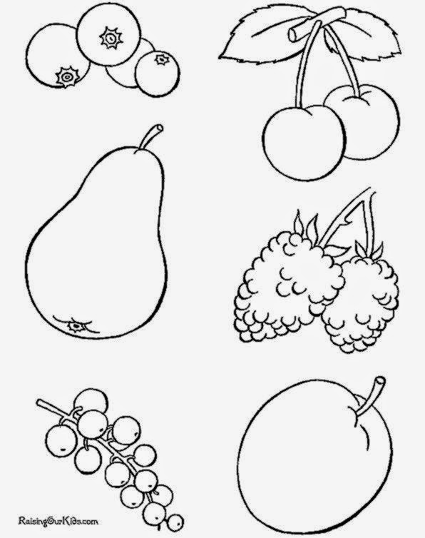 Food Pyramid Coloring Pages For Preschool