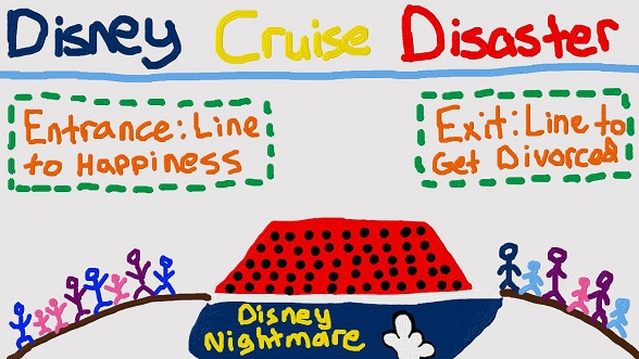 simple man 39 s survival guide disney cruise disaster. Black Bedroom Furniture Sets. Home Design Ideas