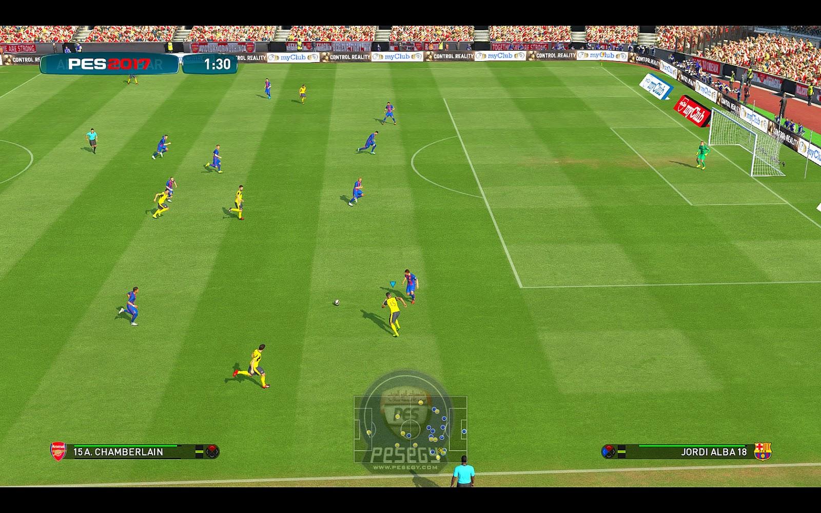 Copy example: c:\\program files (x86)\\steam\\steamapps\\common\\pro evolution soccer 2017