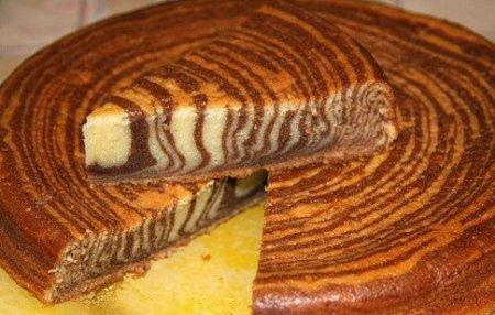 Рецепт тигрового торта