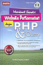 Judul Buku : MEMBUAT SENDIRI WEBSITE PERTEMANAN DENGAN PHP & JQUERY + CD Pengarang : Akhmad Dharma Kasman Penerbit : Loka Media