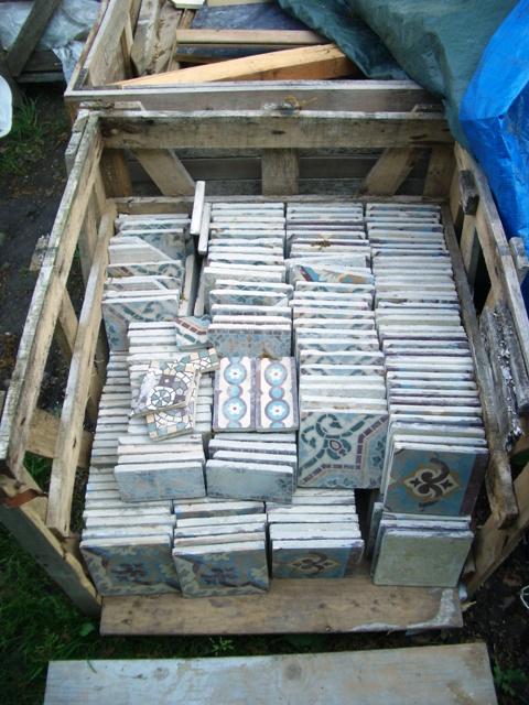 Vlierdenseweg 190  Antieke tegels over