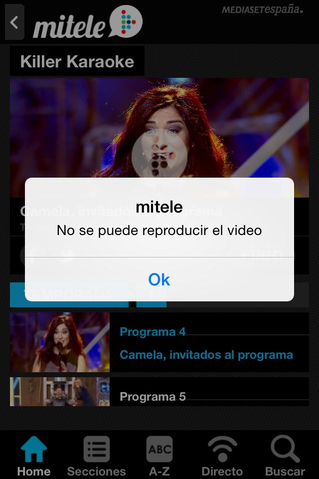 Ver telecinco en directo y online fuera de espa a tele 5 for Ver mitele fuera de espana