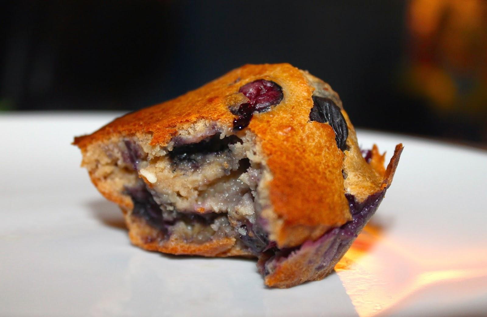 sugar free recipe, blueberry muffins, flour free muffins