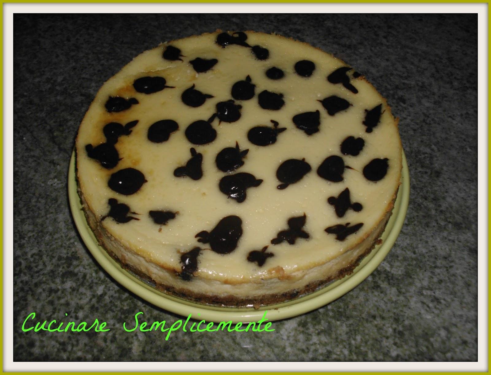 Cucinare semplicemente polka dot cheesecake for Cucinare e congelare
