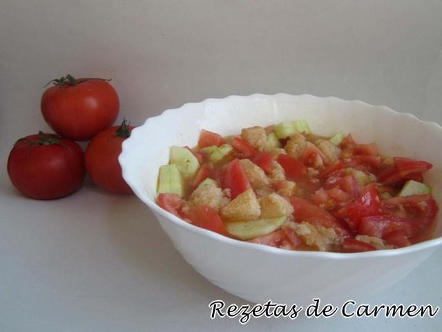 Rezetas de carmen gazpacho entero for Entrantes tipicos franceses