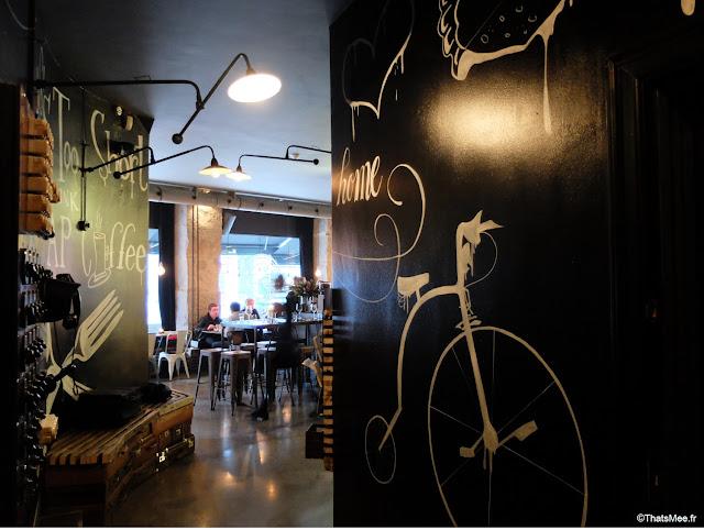 Restaurant Bar Stempel, Copenhague mur déco