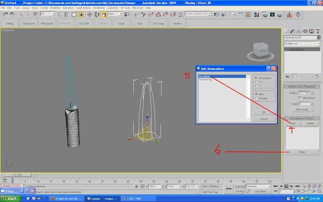 tạo ngọn nến trong 3ds max | hướng dẫn tạo ngọn nến trong 3ds max | ánh sáng ngọn nến trong 3ds max
