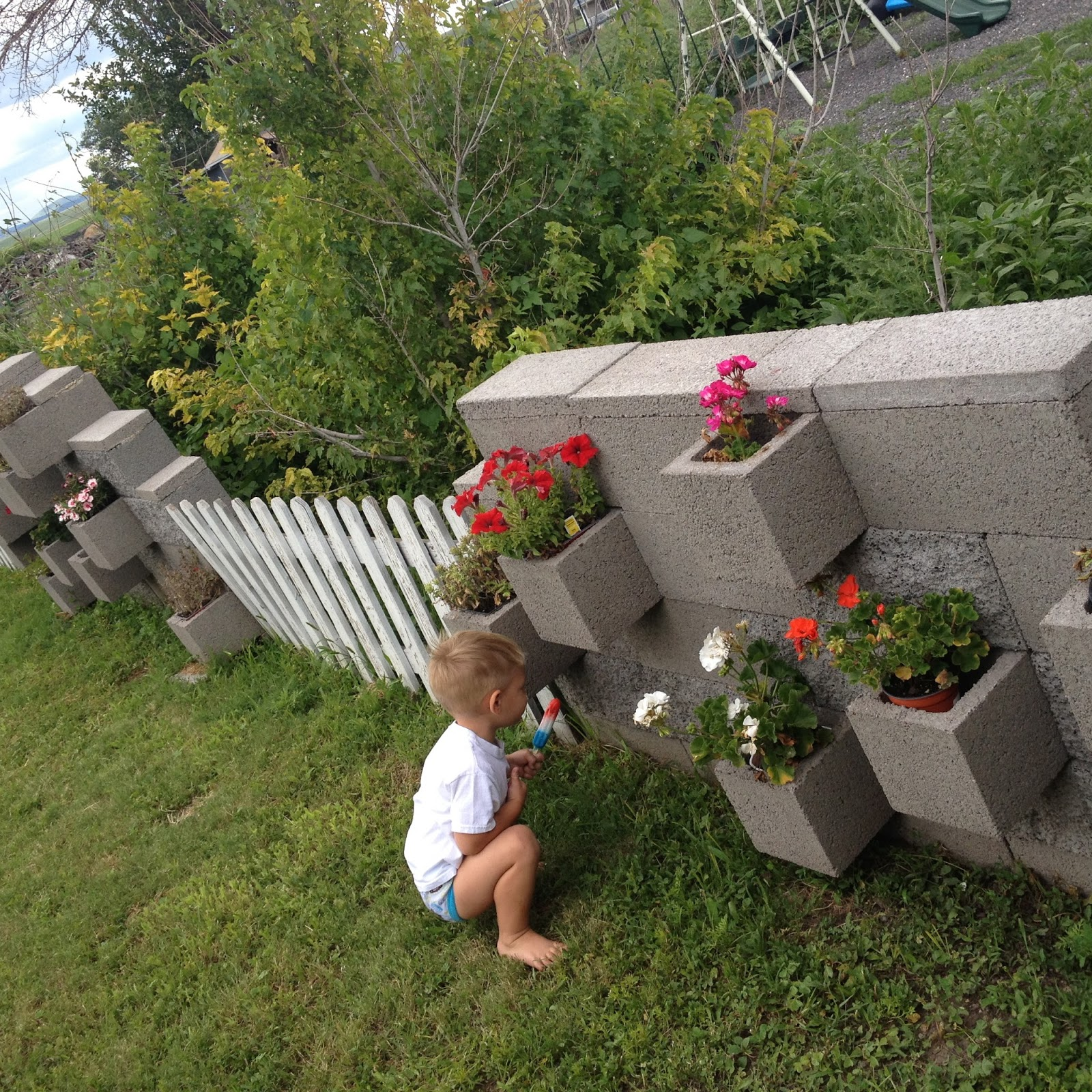 Ashlee Martin Smith Cinder Block Garden