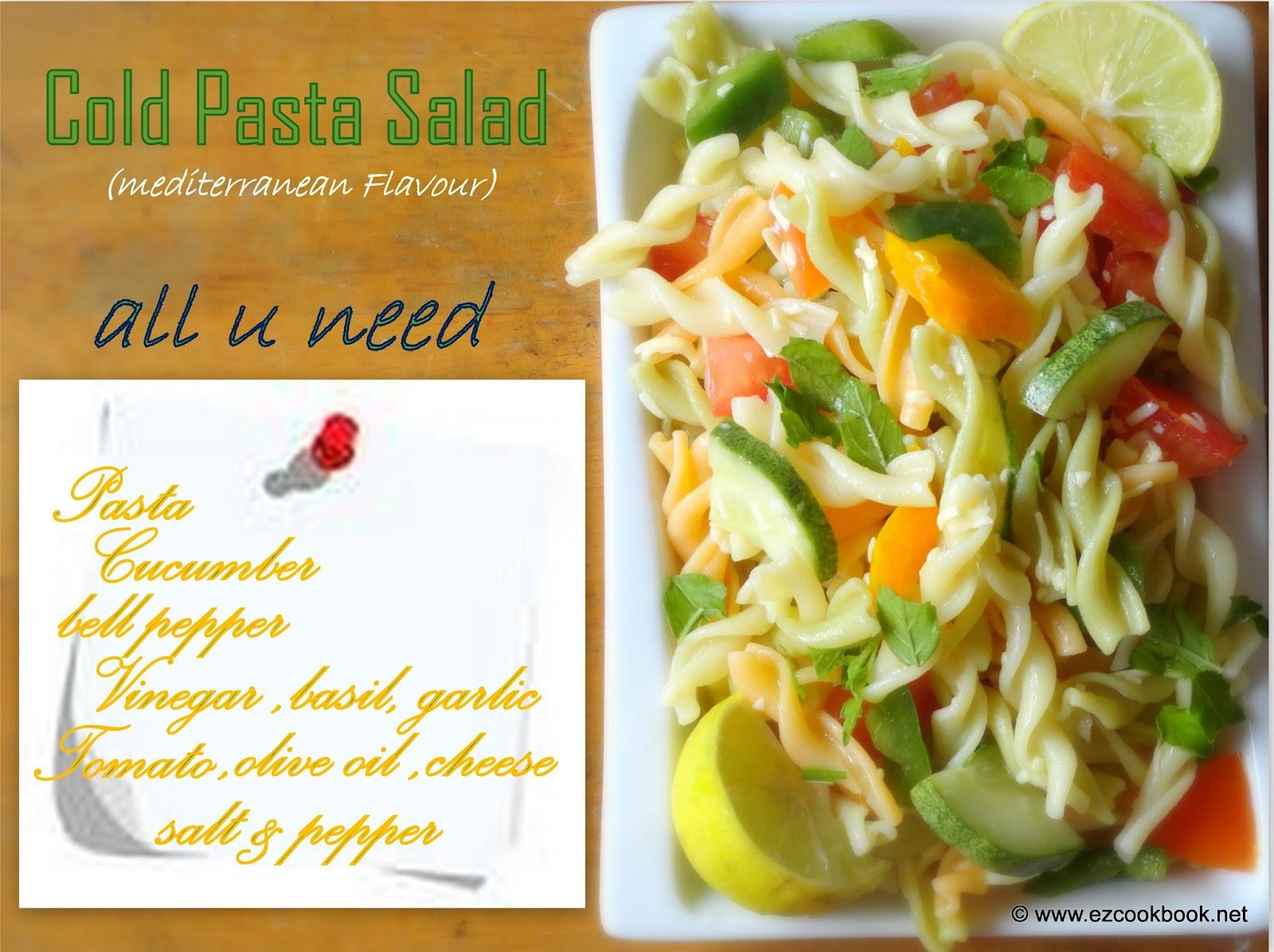 28 Cold Pasta Salad Easy Summer Easy Pasta Salad