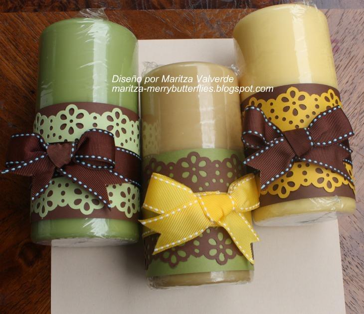 Fotos de velas decoradas imagui - Velas de navidad decoradas ...