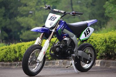 contoh modifikasi motor honda legenda