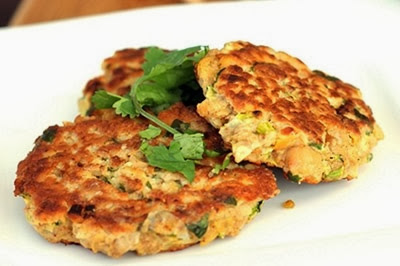 Zucchini Patties, recipes courtesy of www.diabetichealthandwellness.com/