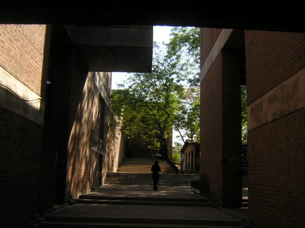 Architecture student 39 s corner b v doshi cept ahmedabad for Spaces architecture studio delhi