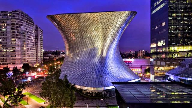 Time lapse, Museo Soumaya, Ciudad de México, Yannick Wegner