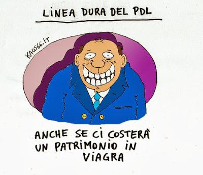 vignetta: Linea dura Pdl