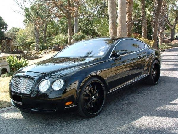 Bentley Continental Gt Black On Black. Bentley Continental Gt Black