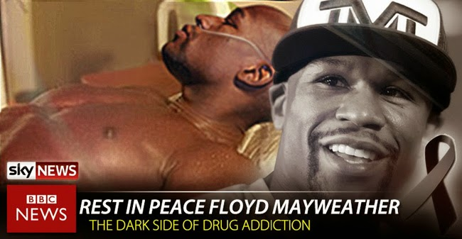 Hoax News About Floyd Mayweather's Death Due to Overdose Goes Viral