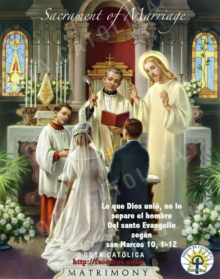 Matrimonio Segun La Biblia Catolica : Gota católica gotas de dios lo que unió no