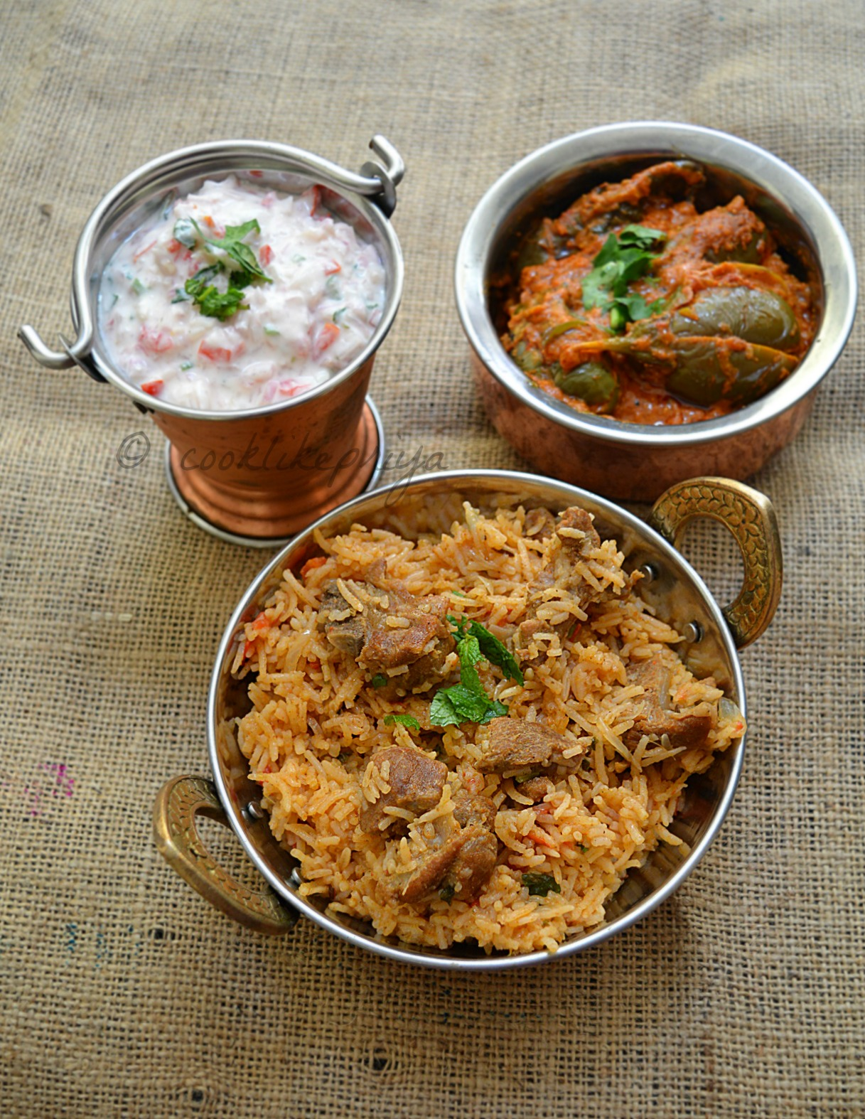 Amma's Mutton Biryani Recipe