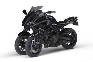 Three Wheel Motorcycle Yamaha: Yamaha MWT-9