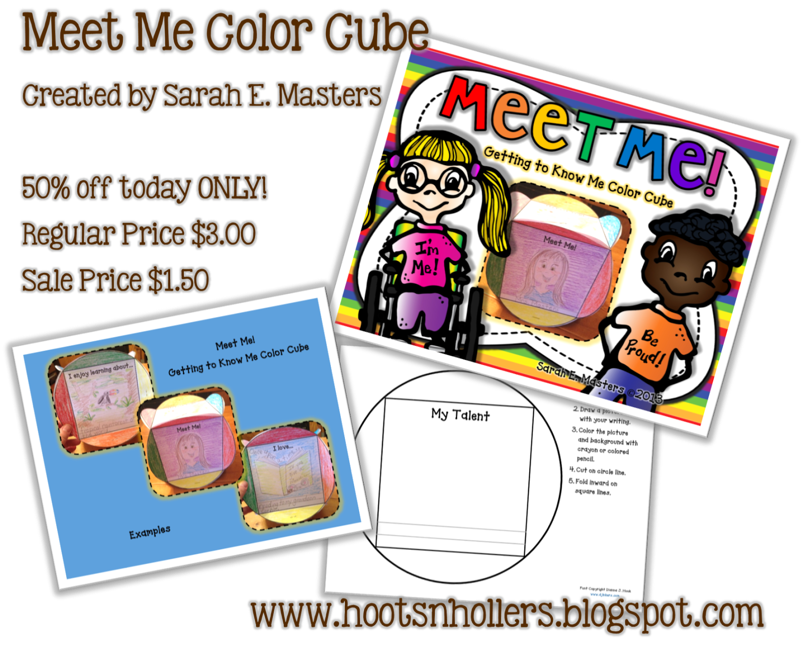 http://www.teacherspayteachers.com/Product/Meet-Me-Getting-to-Know-Me-Color-Cube-Back-to-School-Activity-717866