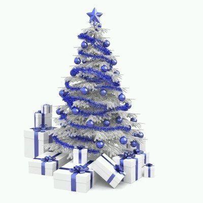 MuyAmeno.com: Arboles de Navidad Color Azul, parte 1