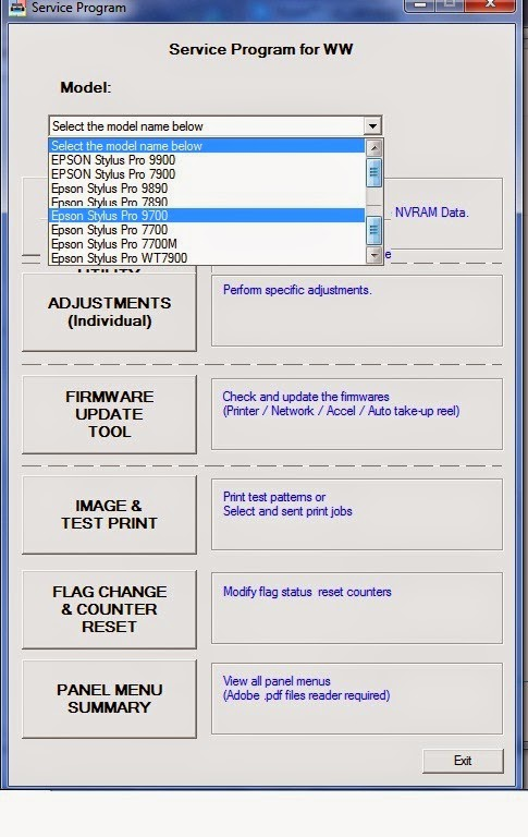 epson artisan 1430 service manual
