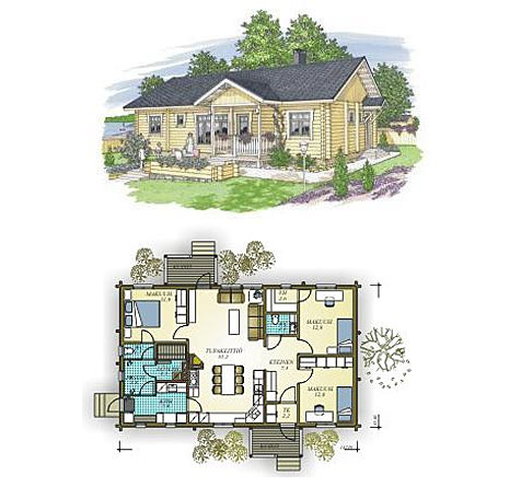 Dise os de casas planos gratis vivienda de 122 m2 - Disenos de viviendas ...