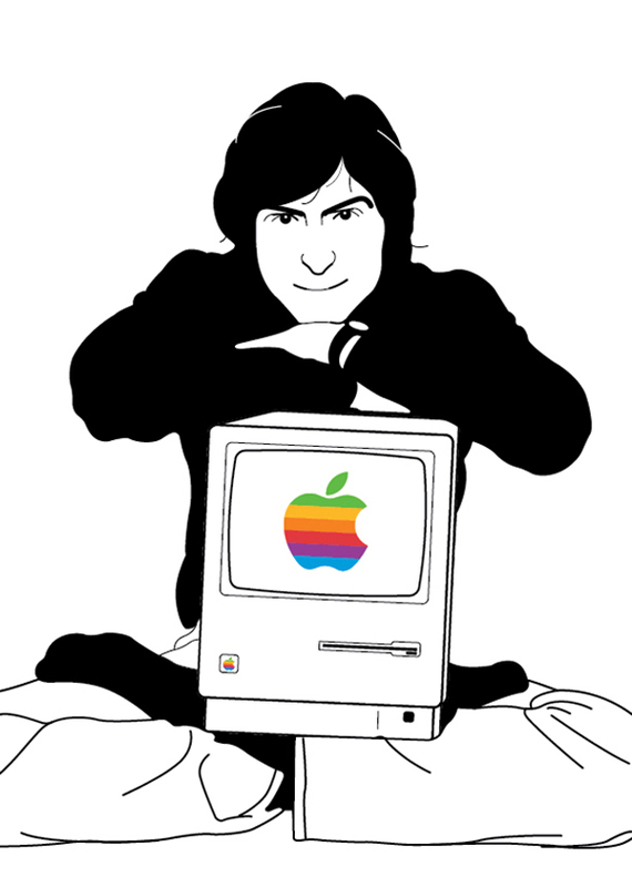 mansinh 20 Awesome Graphical Tributes to Steve Jobs