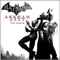 Batman, Arkham City, soundtrack, video, game, cd, cover, image