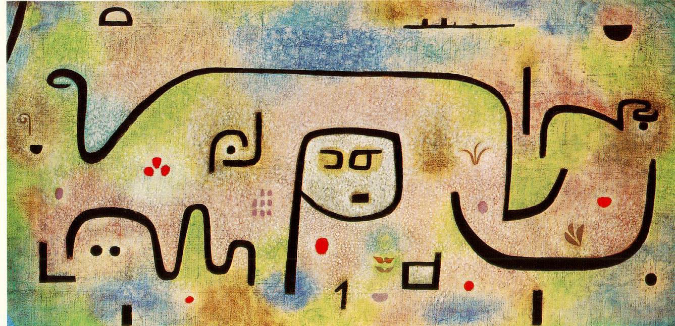 Famous Line Artists Names : Fiuuu paul klee
