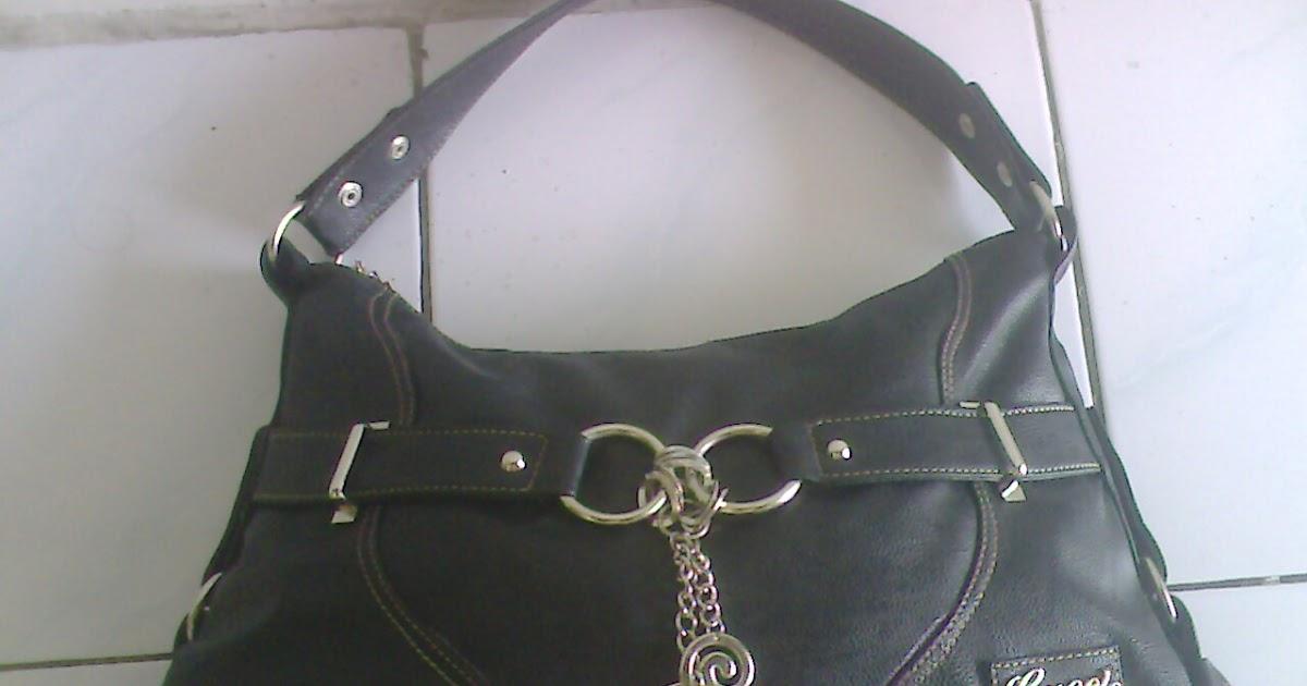 Harga tas wanita branded merk guess kw super warna hitam ...
