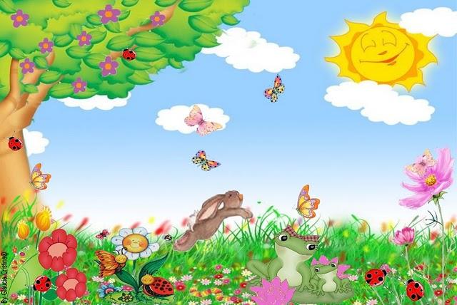 imagens jardim encantado : imagens jardim encantado:Background Infantil